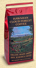 Organic Hawaiian Cloud Forest Coffee